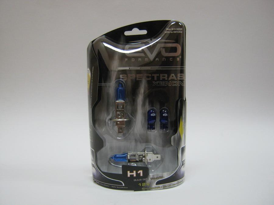EVO Spectras H1 12V 75W P14,5s +W5W 5000K №93386