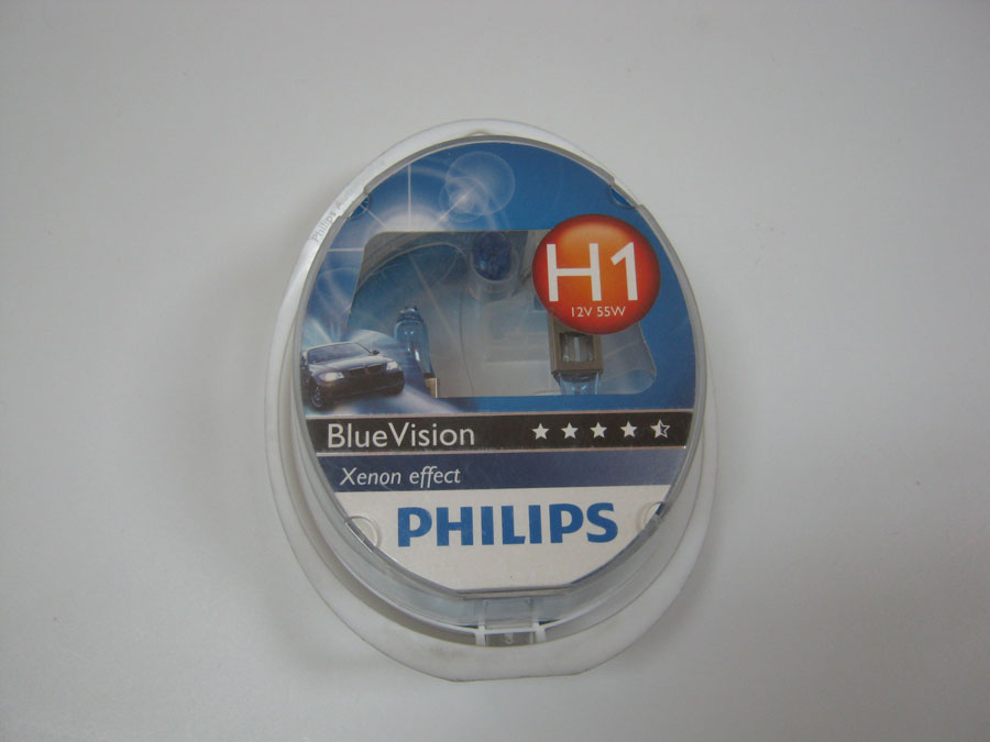 PHILIPS H1 12V 55W P14,5s +W5W Blue Vision Ultra