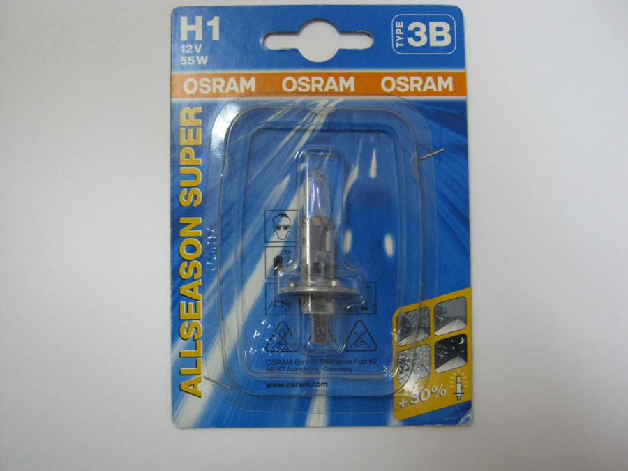 OSRAM H1 12V 55W P14,5s +30% (64150ALS-01B)