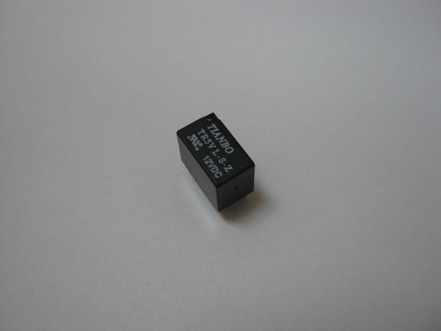 Реле DC 12V 1A 6pin TR5VL-S-Z (12,5x7,5x10,0)