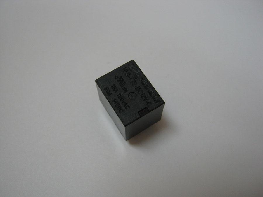 DC 12V 20/12А 5pin  HLS-T78 (15,7x12,3x14,0) HE LI SHUN (1 переключающая группа)