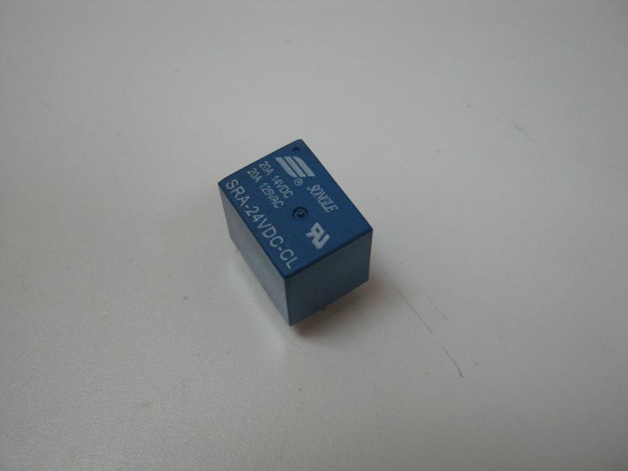 DC 24V 20A 5pin T74 SRA-24VDC-CL (16,0x12,5x13,8) SONGLE (1 переключающая группа)