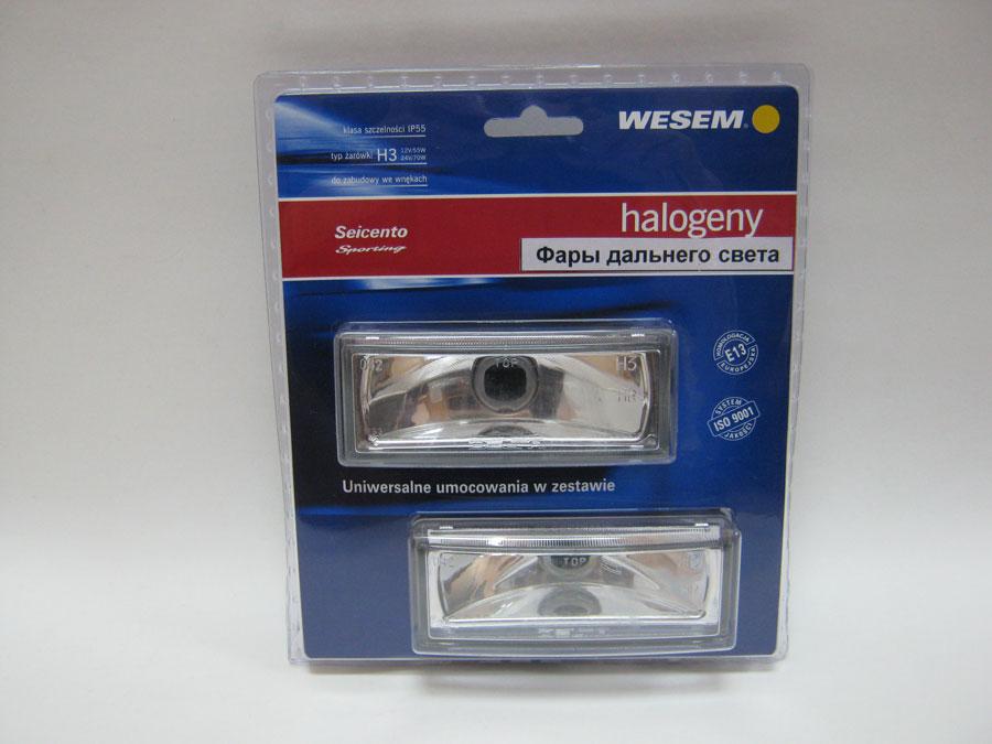 Фара дополнительного (дальнего) света WESEM HM3.38700 12V-24V H3