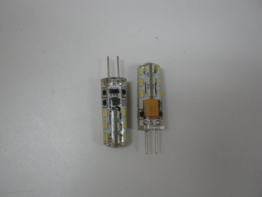 Лампа светодиодная 12V G4 24 SMD 3014 - White