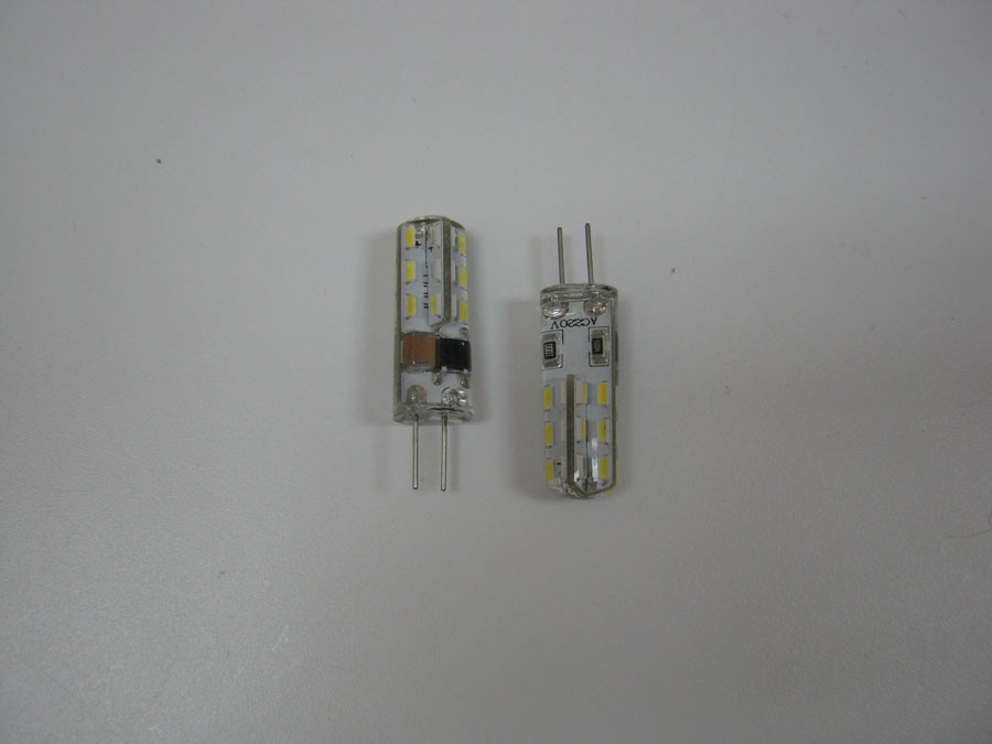 Лампа светодиодная 220V G4 24 SMD 3014 - White