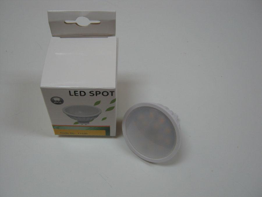 Лампа MR16 12V 7W 500Lm 4500К (YJ-MR16-7W)