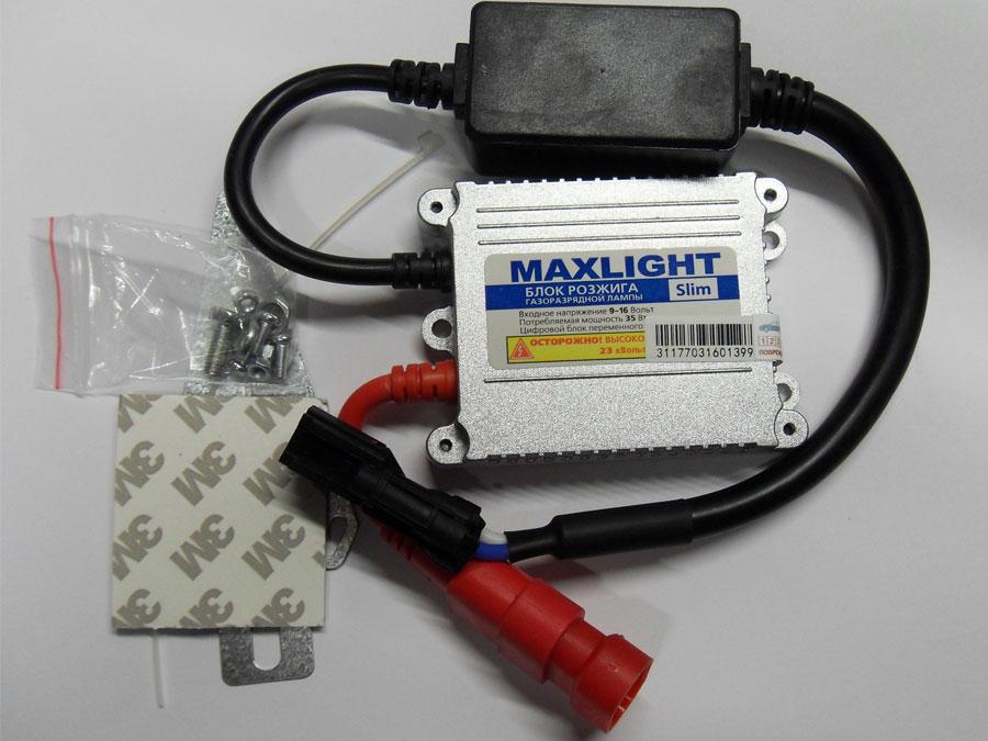 KET-Блок розжига Ксенона 9-16V Slim MaxLight (AC)