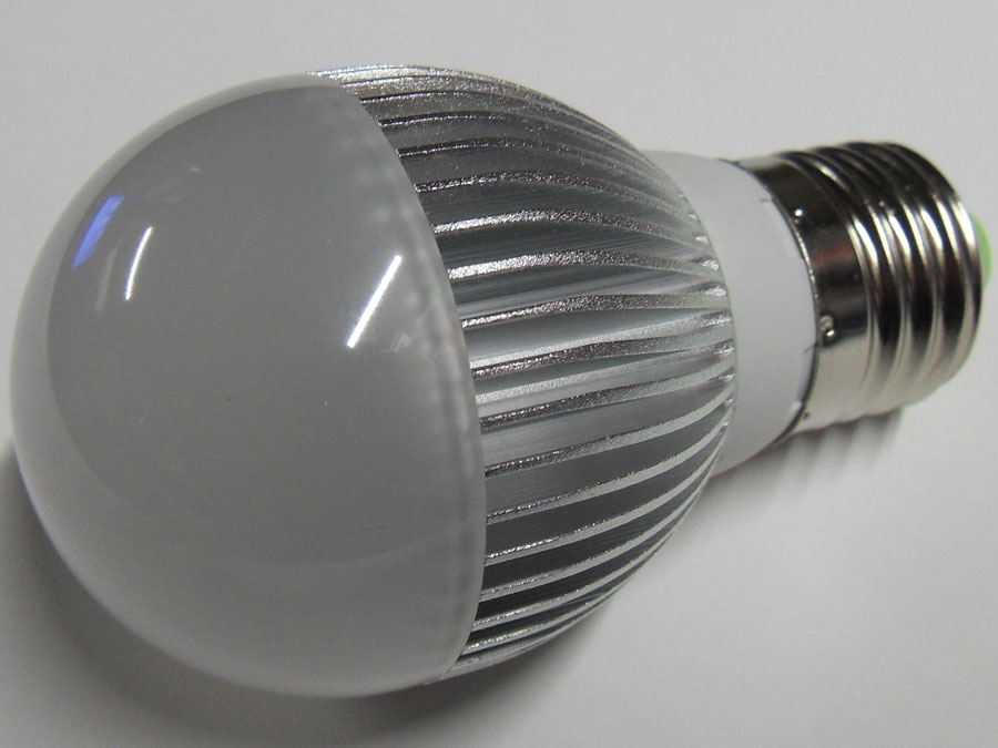 Лампа светодиодная 220V E27 3W/белая (011308)