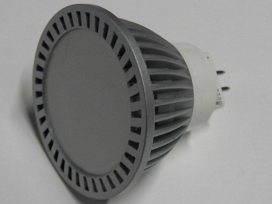 Лампа MR16 220V 3W белая (120-MR16-GU5,3-3-220-W)