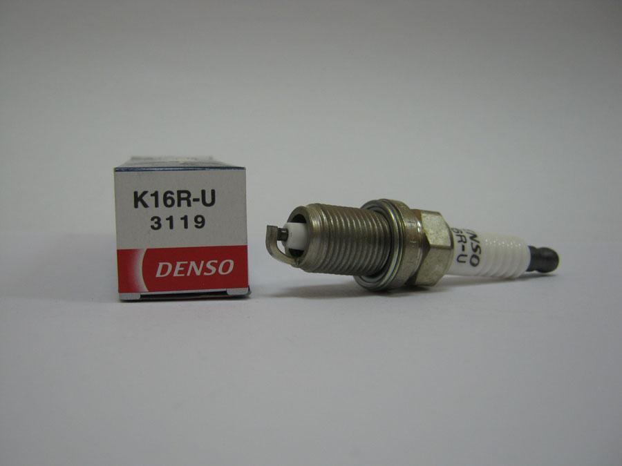 Свеча зажигания K16R-U DENSO (3119)