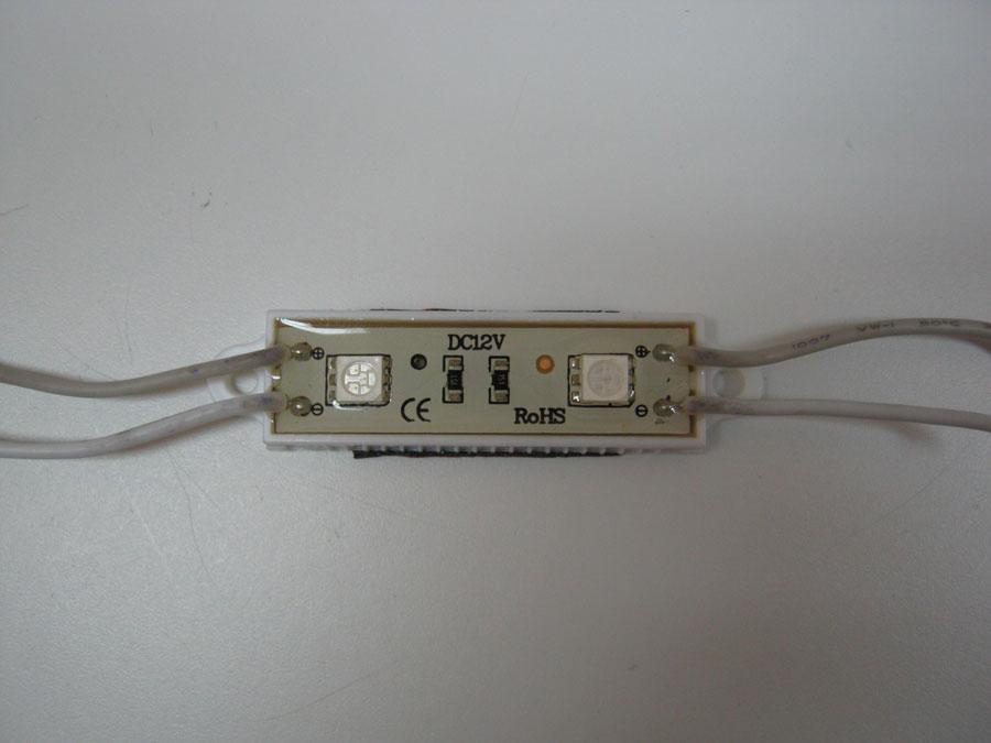 LED LINE 12V 5050-L2-Green-IP68 48х16мм