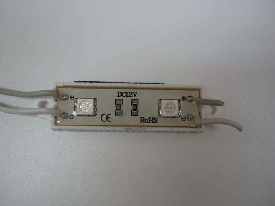 LED LINE 12V 5050-L2-Red-IP68 48х16мм