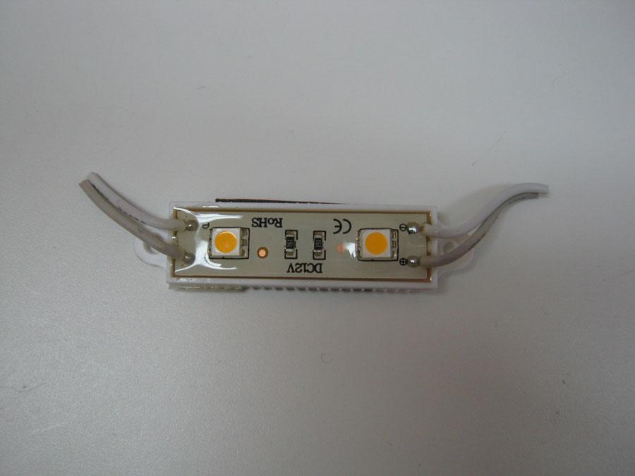 LED LINE 12V 5050-L2-WWhite-IP68 48х16мм