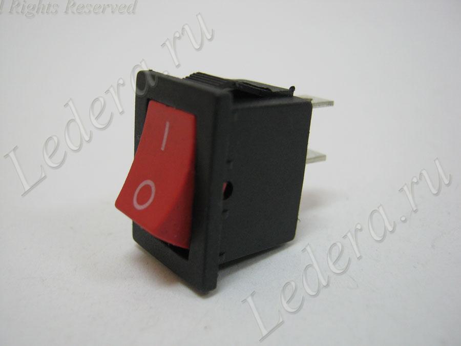 Клавиша малая (OFF-(ON)) 2pin (красный) MRS-111A