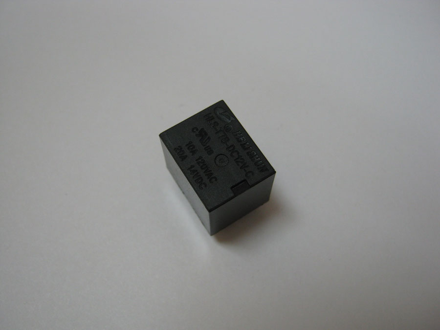 Реле DC 12V 25А 5pin  HLS-T78 (15,7x12,3x14,0) HE LI SHUN