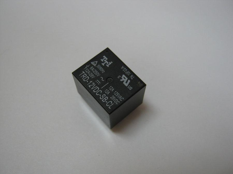 Реле DC 12V 12A 5pin TRD-12VDC-SB-CL (19,0х15,4х15,5) TTI
